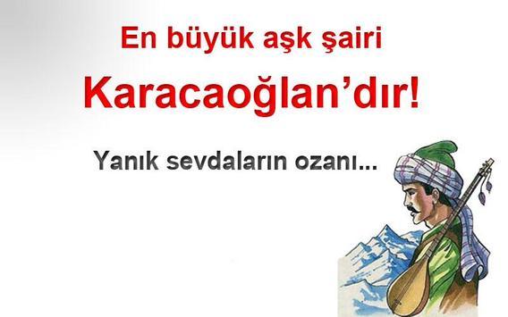 Karacaoğlan Şiirleri poster