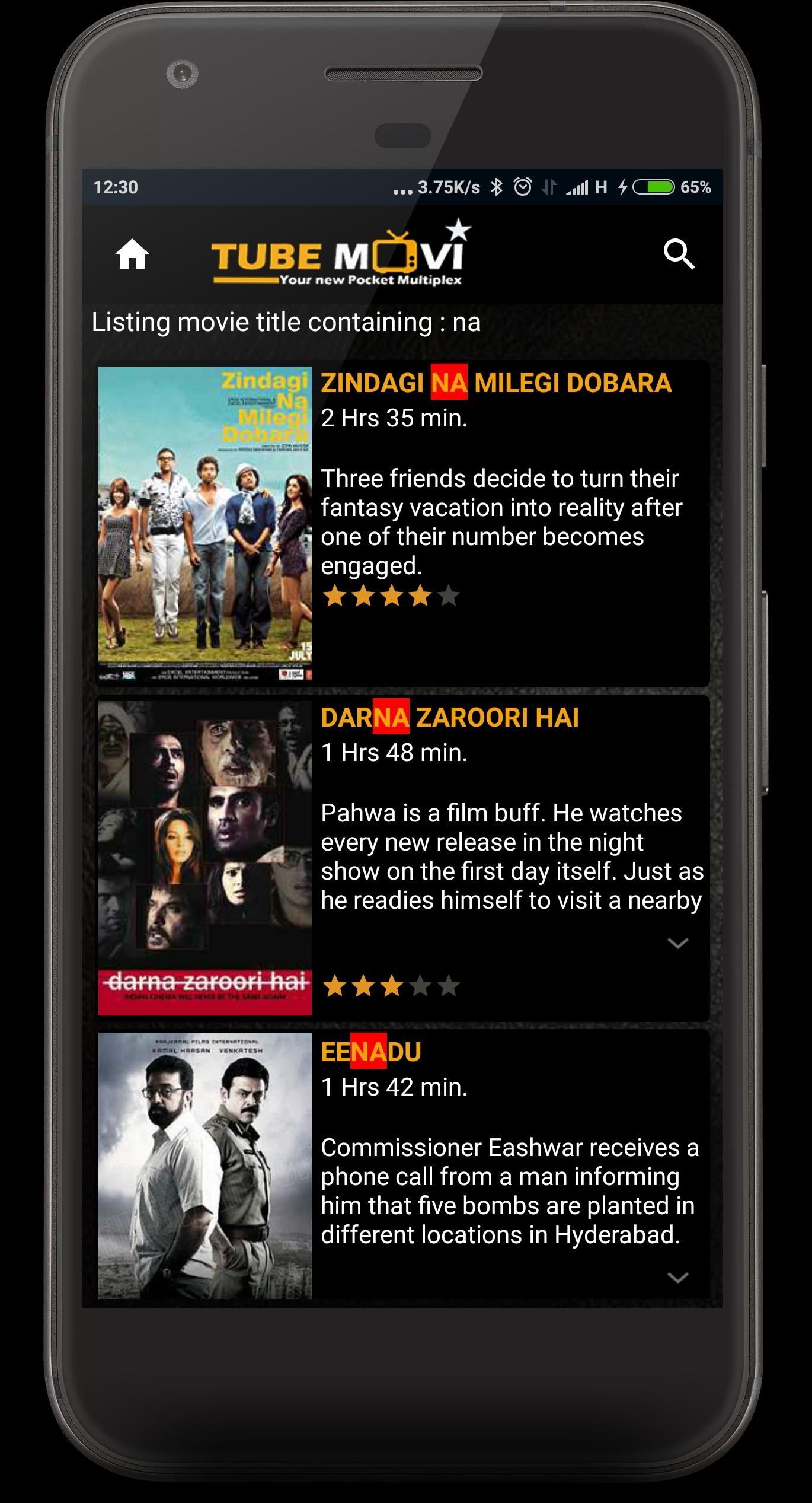 TubeMovie - Watch movies online free for Android - APK Download
