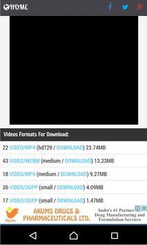 Tube Video Downloader screenshot 2