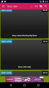 Latina Hot Funniest HD Videos screenshot 1