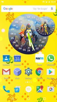 Shiva Clock Live Wallpaper screenshot 4