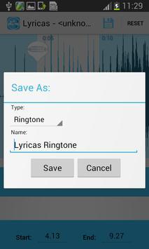 Mp3 Cutter Ringtone Editor apk screenshot
