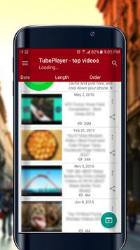 TubePlayer HD screenshot 1