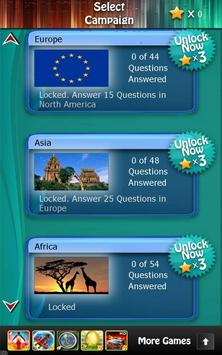 World Capitals Quiz HD poster