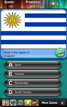 World Capitals Quiz HD apk screenshot