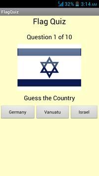 Flag Quiz poster