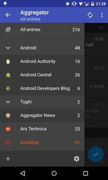 Aggregator screenshot 1
