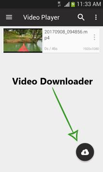 Video Player & Downloader - HD 4k Player apk screenshot