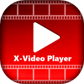 XX Video Player - 4k MX Player, HD MAX Player icon