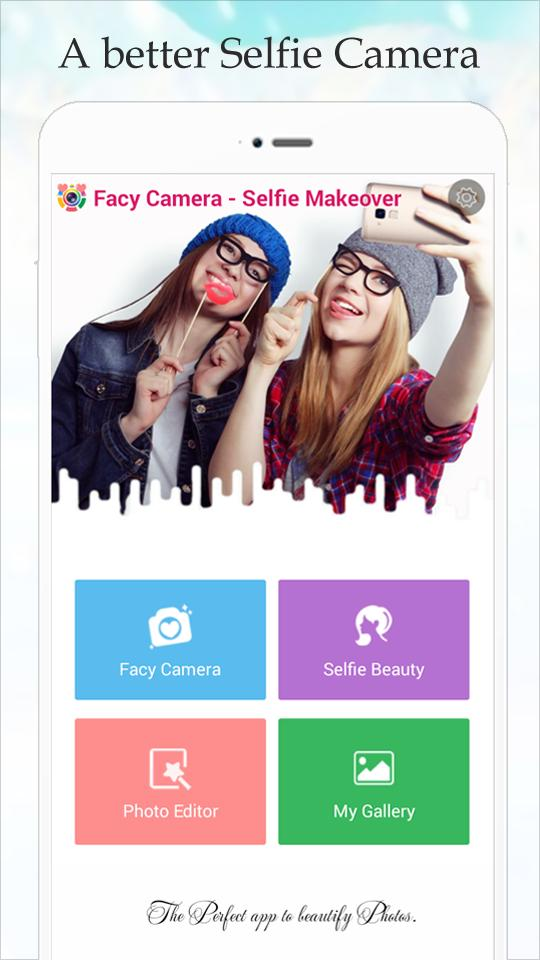 Facy Beauty Camera - Selfie Makeover for Android - APK Download