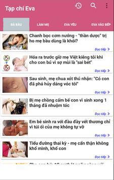 Doc Bao Eva - Tin tuc tong hop The Gioi Phu Nu screenshot 2