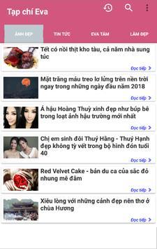 Doc Bao Eva - Tin tuc tong hop The Gioi Phu Nu screenshot 7