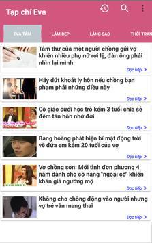 Doc Bao Eva - Tin tuc tong hop The Gioi Phu Nu screenshot 4