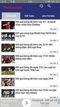 The thao 247  - Doc Bao thethao247 - Bao Bong Da screenshot 2