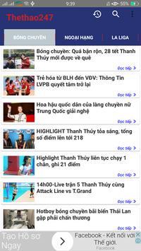 The thao 247  - Doc Bao thethao247 - Bao Bong Da screenshot 4