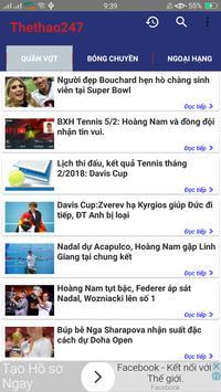 The thao 247  - Doc Bao thethao247 - Bao Bong Da screenshot 5