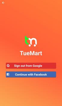 TueMart poster