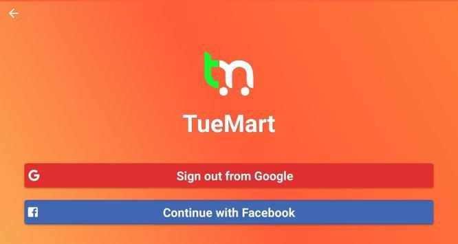 TueMart screenshot 1