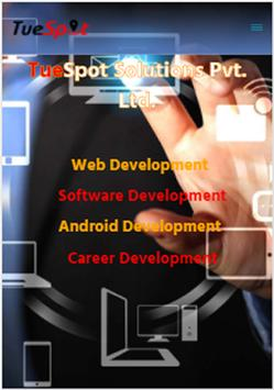 TueSpot Solutions poster