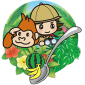 Drop with spoon!  (jungle restaurants for animals) icon