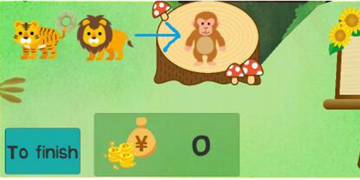 Drop with spoon!  (jungle restaurants for animals) screenshot 3