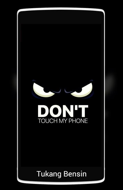 ... Don't Touch My Phone Wallpaper 3D Live screenshot 2 ...