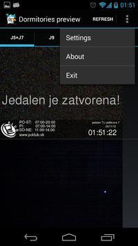 Študentské domovy TUKE apk screenshot