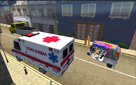 Rickshaw Thief Run apk screenshot