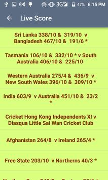 IPL Live TV Score Update apk screenshot