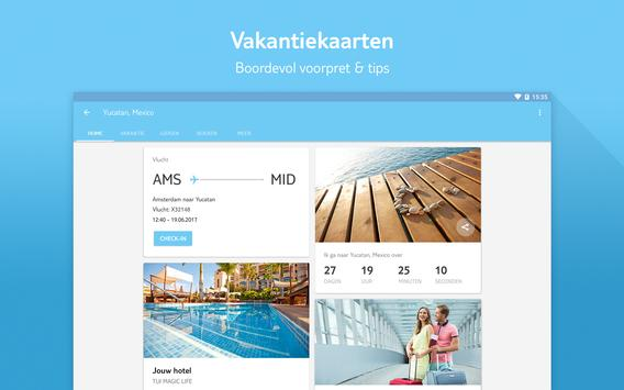 TUI Nederland | Je complete vakantie in een app apk screenshot