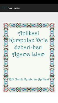 Doa Muslim poster