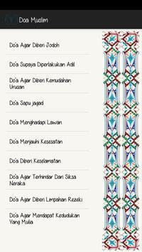 Doa Muslim screenshot 2
