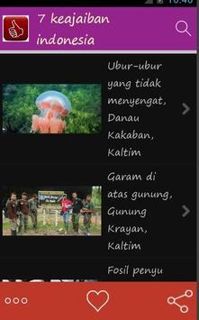 tujuh keajaiban indonesia screenshot 3