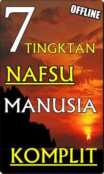7 TINGKATAN 'NAFSU' MANUSIA  KOMPLIT DAN TERBARU poster