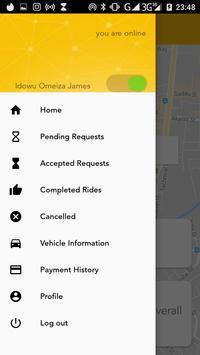 Tule Taxi - Driver's App screenshot 1