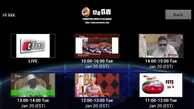AfrikaSTV - ASTV screenshot 8