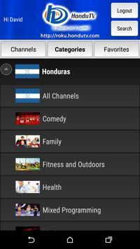 HonduTV screenshot 3