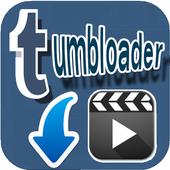 Tumbloader for tumblr icon