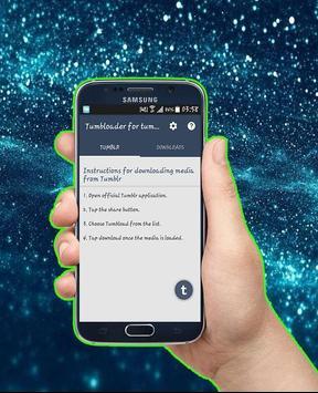 Tumbloader for tumblr apk screenshot