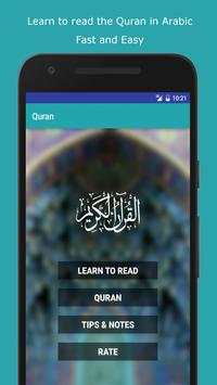 Learn To Read The Quran poster