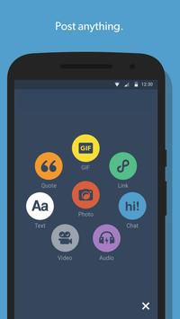 Tumblr apk screenshot