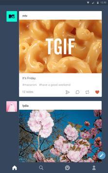 Tumblr apk screenshot