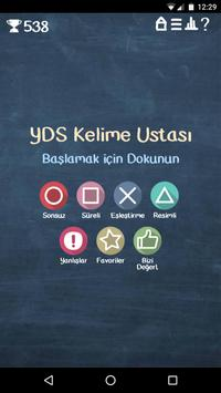 YDS Kelime Ustası poster