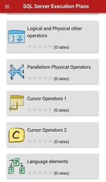 SQL Server Execution Plans cho Android - Tải về APK