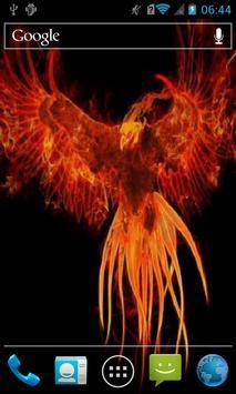 Fiery bird Live WP poster