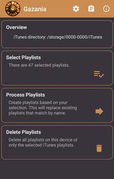 Gazania for iTunes Playlists plakat