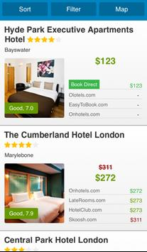 Comparotel - Hotel Comparison apk screenshot