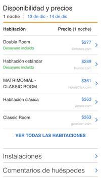 Hotelcito - Hoteles del Mundo apk screenshot