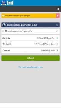 Otelcik - Otel Arama Motoru apk screenshot
