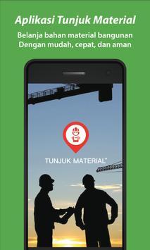 Tunjuk Material poster
